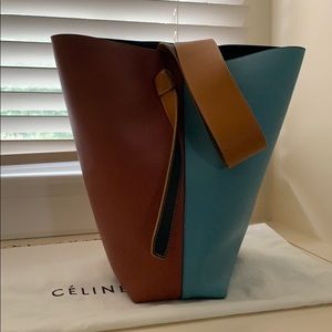 Celine Twisted Cabas Bag